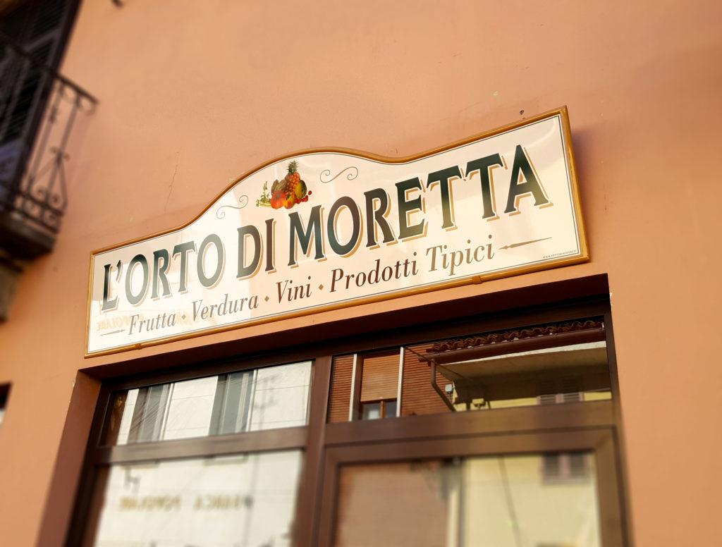L'orto di Moretta - Frutta e verdura
