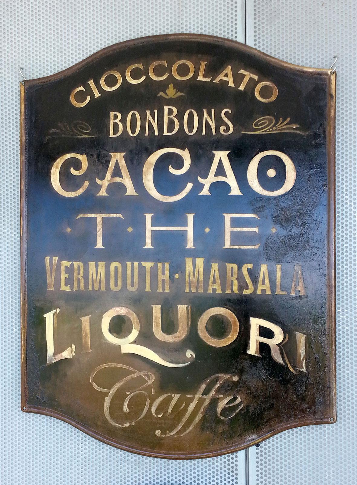 Cacao Bonbons Liquori