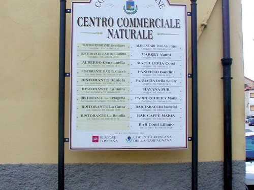 Centro Commerciale Naturale – Careggine